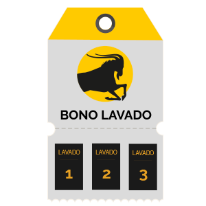 Bono 3 lavados utilitario / turismo / compacto