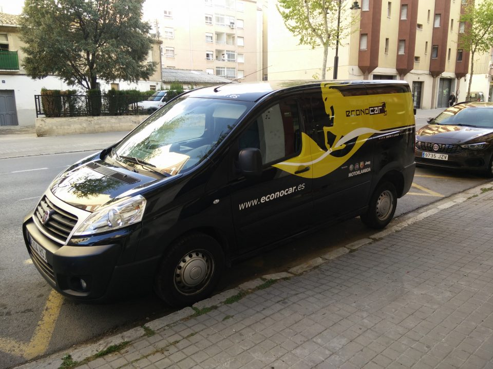 Nueva flota de vehículos en Econocar