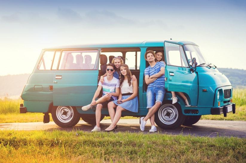 Alquiler furgoneta 9 plazas en Econocar Alcoy